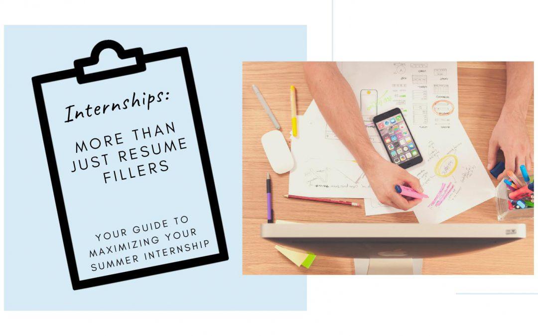 Internships: More than just resume fillers