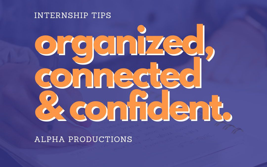 Organized, Connected & Confident